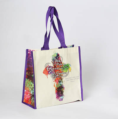 You Make An Eternal Difference Laminated Tote Bag