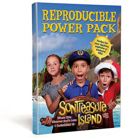 Gospel Light VBS 2014 SonTreasure Island Reproducible Power Pack
