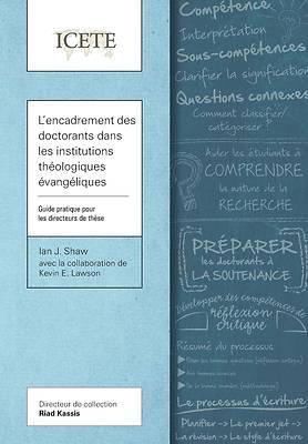 Picture of L'encadrement des doctorants dans les institutions thologiques vangliques
