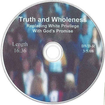 Truth and Wholeness DVD