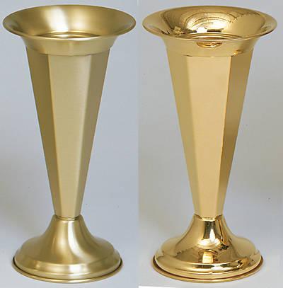 "Picture of Koleys K120 Polished Brass 12"" Inch Vase"