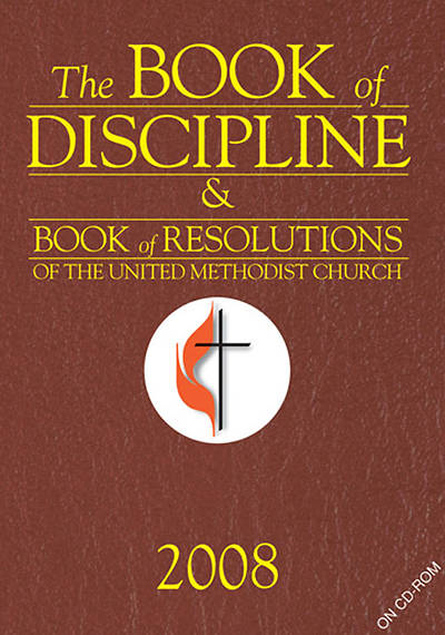The Book of Discipline & The Book of Resolutions 2008 CD-ROM