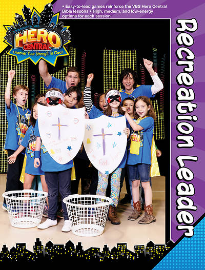 Vacation Bible School 2017 VBS Hero Central Recreation Leader - Download