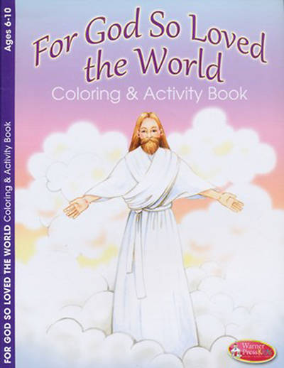 For God So Loved the World Coloring Book