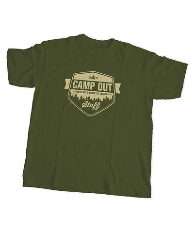 Vacation Bible School (VBS) 2017 Camp Out Staff T-Shirt 2XL (50 - 52)