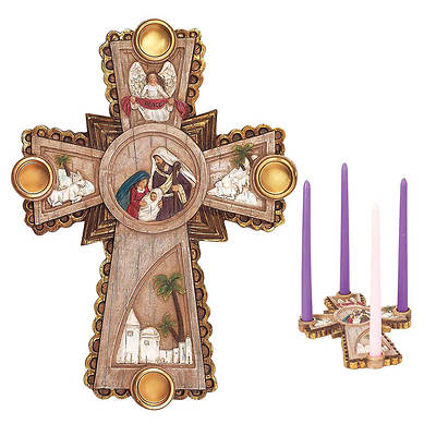 Picture of Nativity Advent Wreath