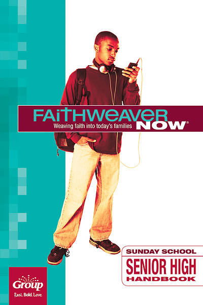 Picture of FaithWeaver Now Senior High Handbook Winter 2015-16