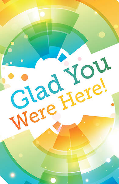 Picture of Glad You Were Here! Postcard