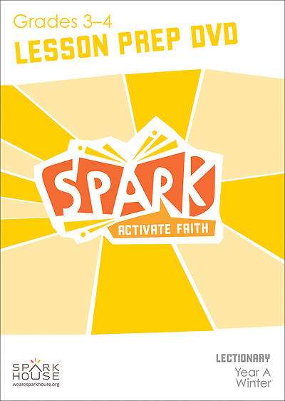 Spark Lectionary Grades 3-4 Preparation DVD Winter Year A