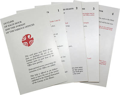 Liturgy of the Hours Inserts
