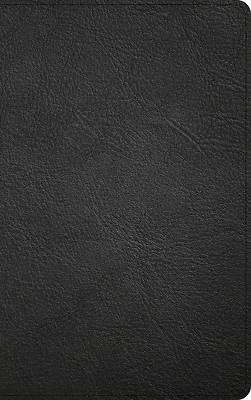 Picture of KJV Single-Column Personal Size Bible, Black Genuine Leather