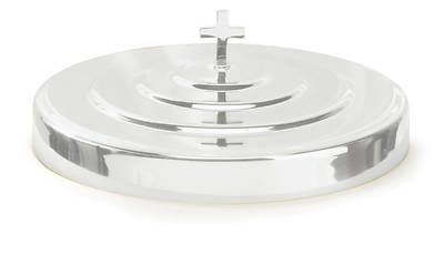 Silvertone Aluminum Communion Tray Cover