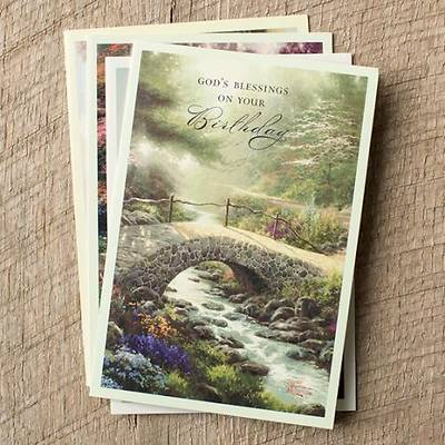 Thomas Kinkade™ Painter of Light™ KJV - Birthday Boxed Cards - Box of 12