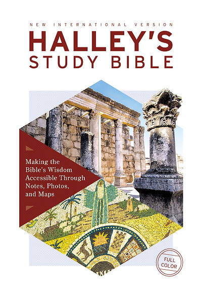 Picture of NIV Halley's Study Bible, Hardcover, Red Letter Edition, Comfort Print