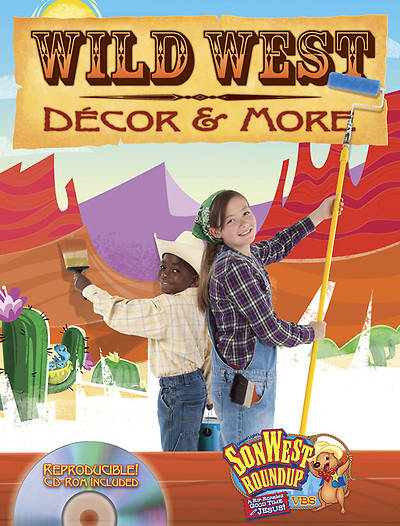 Gospel Light Vacation Bible School 2013 SonWest RoundUp Wild West Decor & More