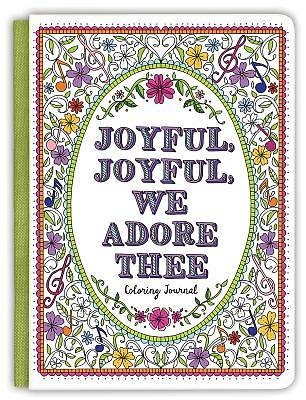 Picture of Joyful, Joyful We Adore Thee Coloring Journal