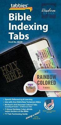 Noahs Ark Bible Indexing Rainbow Tabs