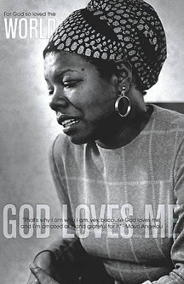 For God So Loved Maya Angelou Bulletin - Reg. Size, Pack of 50