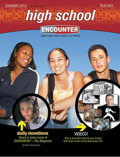 Encounter High School Teacher Book Summer 2013