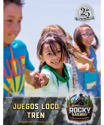 Picture of Vacation Bible School VBS 2021 Rocky Railway Loco Motion Games Leader Manual (Spanish for Bilingual Edition)