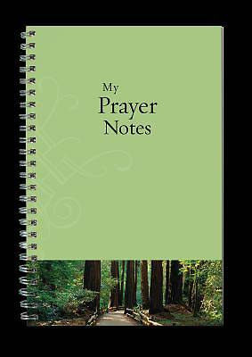 Green with Trees Prayer Notes Notebook