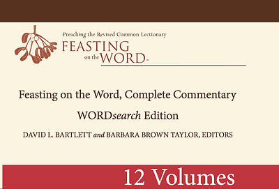 Feasting on the Word, Complete Commentary 12 Volume Set on CD ROM