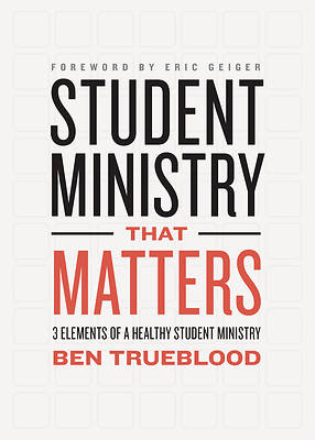 Picture of Student Ministry That Matters