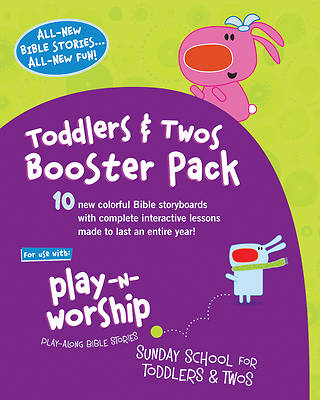 Picture of Play-n-Worship for Toddlers & Twos Booster Pack
