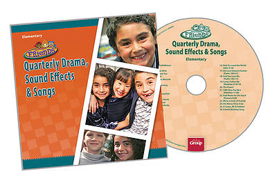 Groups Faithweaver Friends Elementary Drama Sound Effects & Songs CD: Fall 2012