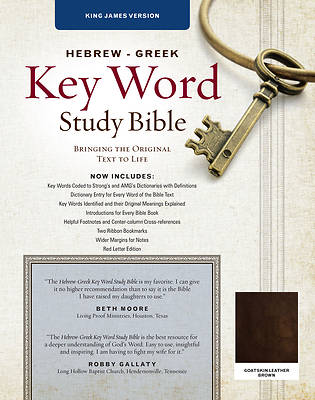 Picture of The Hebrew-Greek Key Word Study Bible