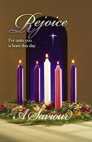 Advent/Christ Candle Bulletin Regular (Package of 100)