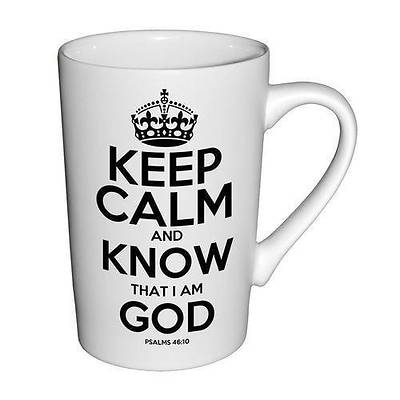 White Matte Mug  Keep Calm