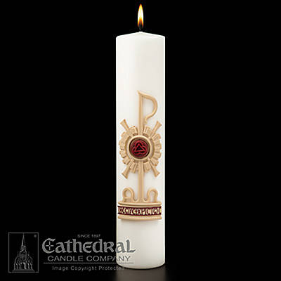 Picture of Holy Trinity Christ Candle