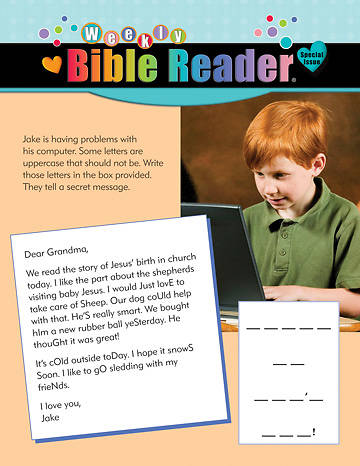 Picture of HeartShaper Early Elementary Weekly Bible Reader