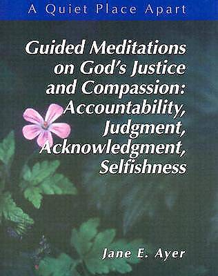 Picture of Guided Meditations on God's Justice and Compassion