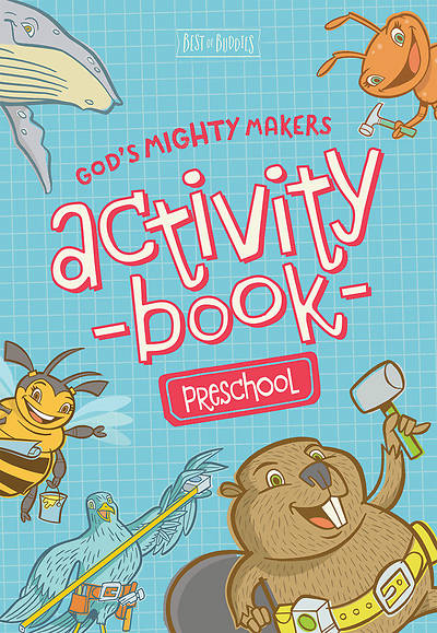Picture of God's Mighty Makers Preschool Activity Book