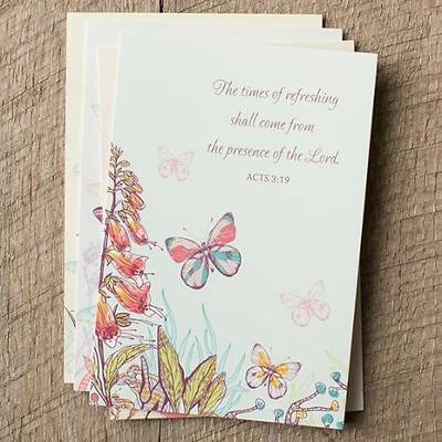 Butterflies - Praying For You Boxed Cards - Box of 12