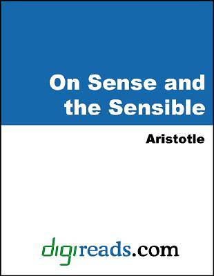 On Sense and the Sensible [Adobe Ebook]