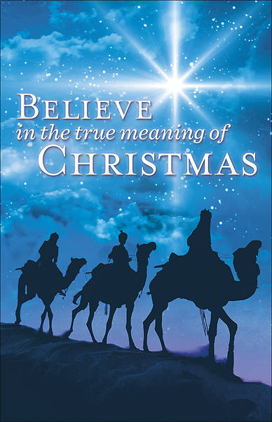 Believe  Christmas Bulletin