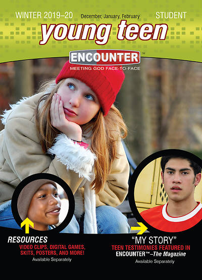 Encounter Young Teen Student Winter