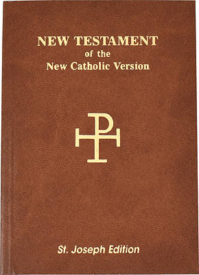 Saint Joseph Vest Pocket New Testament-Nab