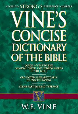 Picture of Vine's Concise Dictionary of Old and New Testament Words
