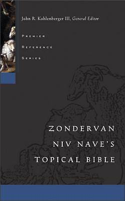 Zondervan NIV Naves Topical Bible