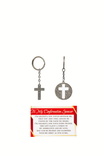 Picture of To My Confirmation Sponsor Key Ring Card Set