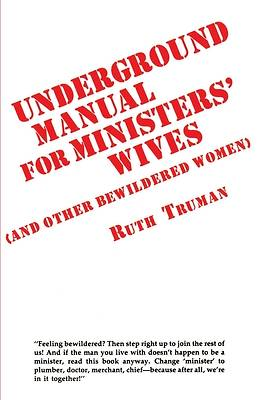 Picture of Underground Manual for Ministers' Wives