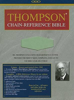 Thompson Chain Reference Bible-NIV-Handy Size