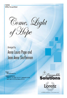 Come, Light of Hope SATB, Piano