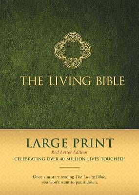 The Living Bible Large Print Red Letter Edition