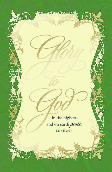 Glory to God Boxed Card