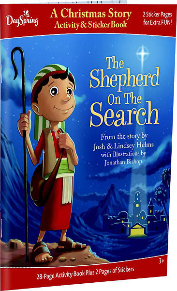 Shepherd On The Search Activity Book with Stickers